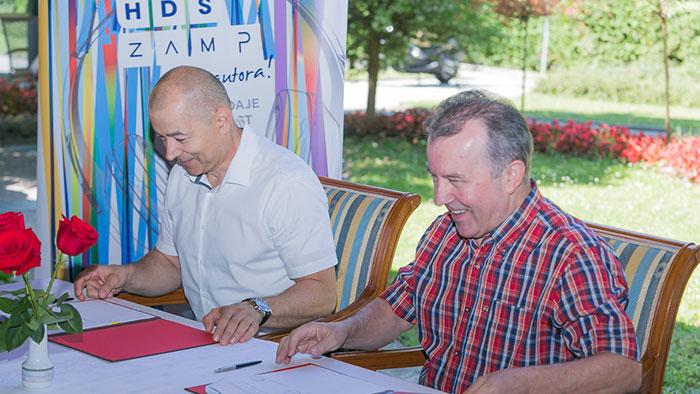 Hrvatski diskografi i HDS ZAMP potpisali novi ugovor