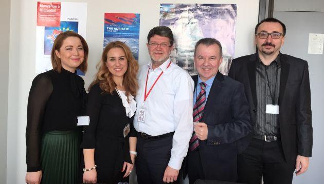 Predstavnici Hrvatske diskografske udruge u Europskom parlamentu