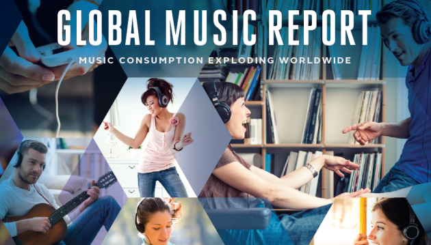 IFPI Global Music Report 2016 – Po prvi put digitalni prihodi nadmašili fizičku prodaju