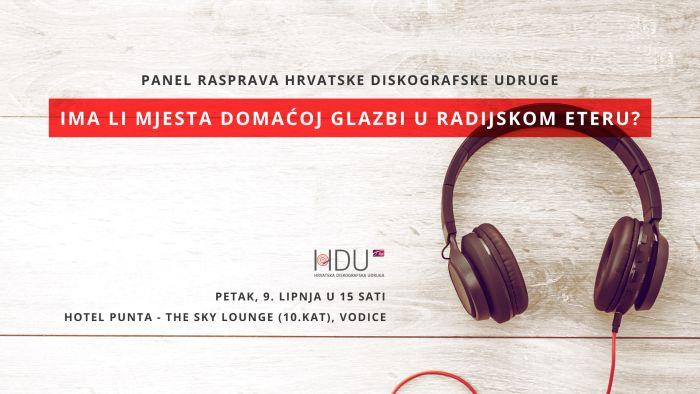 Panel rasprava: Ima li mjesta domaćoj glazbi u radijskom eteru?