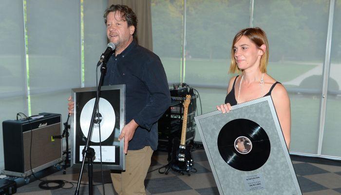 Seymouru Steinu uručeno posebno priznanje HDU-a za doprinos glazbenoj industriji