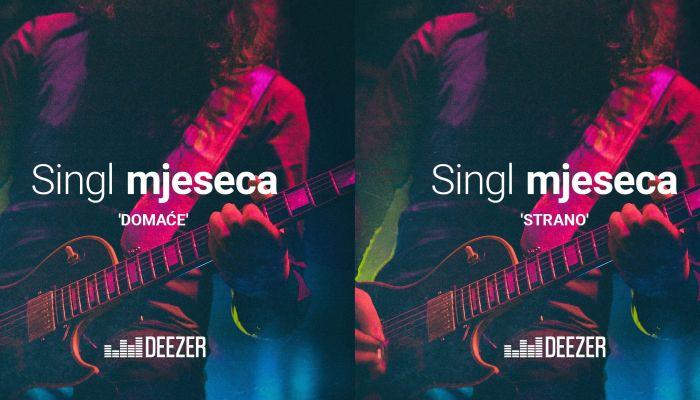 Hrvatska diskografska udruga predstavlja Deezer singl mjeseca