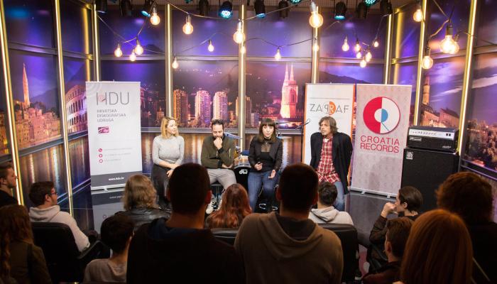 Učenici Srednje škola Duga Resa u posjeti Croatia Recordsu i CMC televiziji
