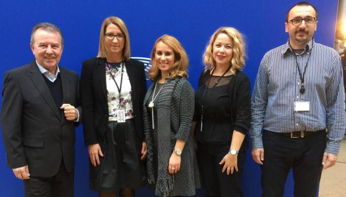 Predstavnici HDU-a u Europskom parlamentu