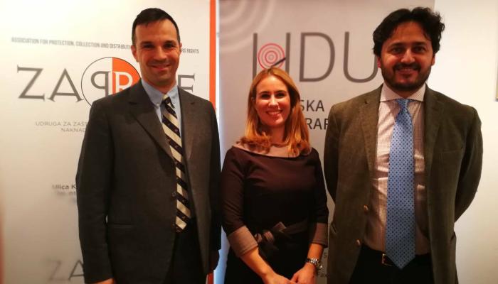 Direktor europskog ureda IFPI-ja u posjeti ZAPRAF-u i HDU-u