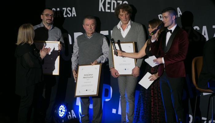 Croatia Recordsu, Menartu i Toniki posebno priznanje Hrvatske udruge poslodavaca i HDU-a
