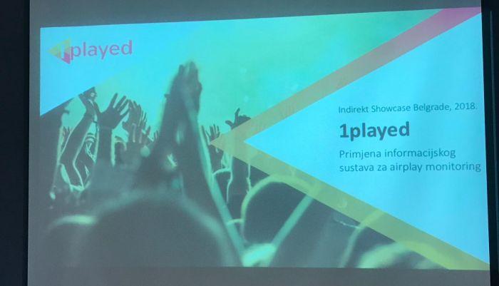 1played sustav predstavljen na konferenciji Indirekt Showcase Belgrade