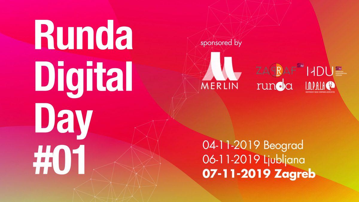 Svjetska glazbena lica stižu u Zagreb: Uskoro počinje prvi Runda Digital Day!